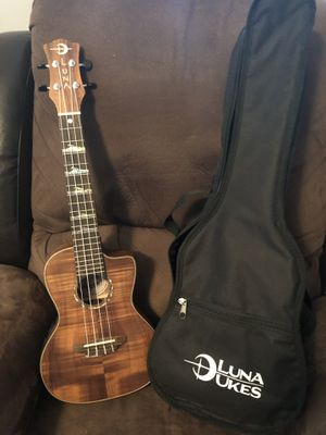 Luna Ukulele for Sale in Moline, IL