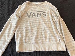 Vans women's M sweatshirt for Sale in San Diego, CA