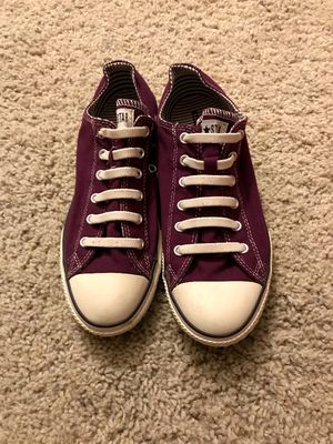 Plum purple converse slip on men's size 5 women's size 7 shoes for Sale in Westlake, OH