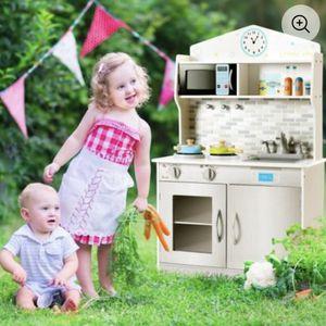 Kids Wooden Pretend Cooking Play Kitchen Set for Sale in Hacienda Heights, CA