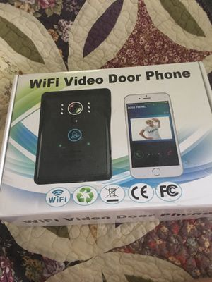 New in the box , WiFi video door phone camera for Sale in Loudon, TN