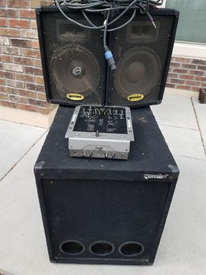 DJ sistema de sonido barato for Sale in Phoenix, AZ