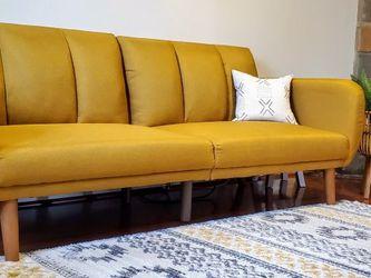 Mustard Yellow Mid-Century Modern Sleeper Sofa *BRAND NEW* for Sale in Columbia,  MD