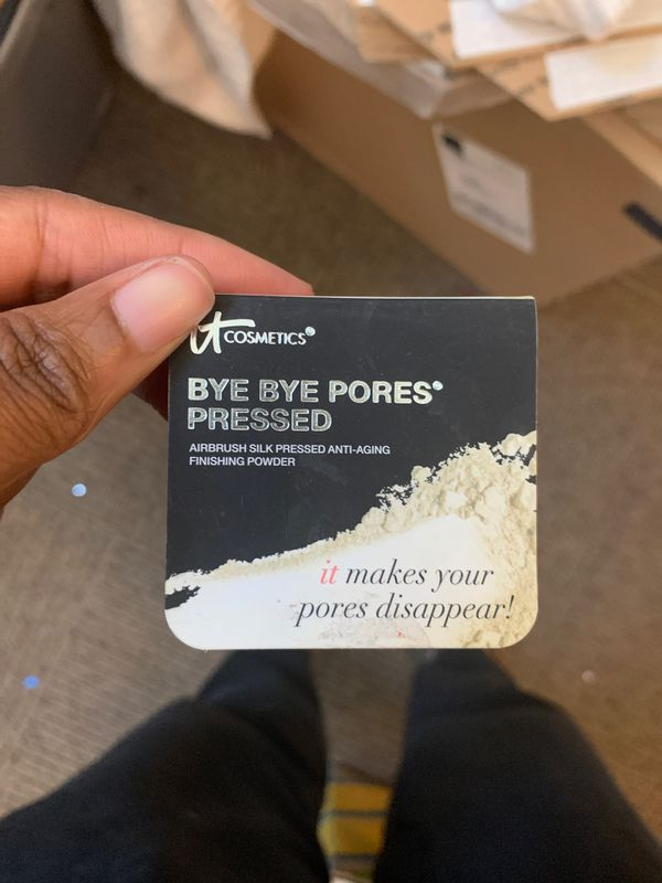 Free bye bye pores to one in need