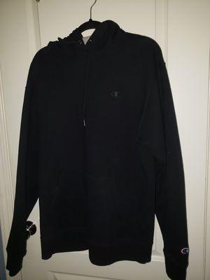 Black champion hoodie for Sale in Lake Elsinore, CA