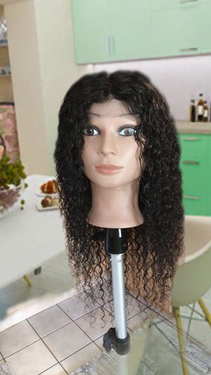 20 inch Brazilian virgin deep wave lace front wig for Sale in Columbus, OH