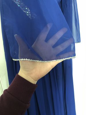 Blue Dress with Shawl for Sale in Falls Church, VA