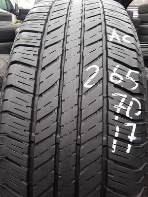 265/70-17 #1 tire for Sale in Alexandria, VA