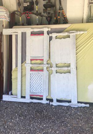 white bed frame full for Sale in Cataula, GA