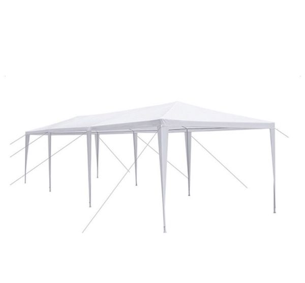 Outdoor Party Tent Gazebo Canopy Wedding Kitchen Camper Theater Cookout Pool Accessories 8 10'x30' White