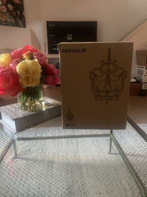 IKEA Kristaller Chandelier New for Sale in Newport Beach, CA