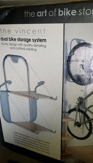 New in box Vincent Bike rack. Garage or indoor. NWChgo for Sale in Chicago, IL