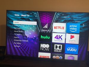 "65"" TCL ROKU TV 4K for Sale in Austin, TX"