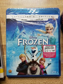 New Frozen bluray / DVD no dig for Sale in Valley Center,  CA