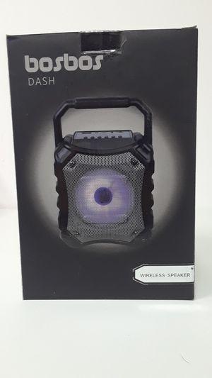 Bosbos dash Bluetooth speaker for Sale in Ottumwa, IA