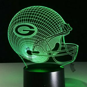 Green Bay Packers NFL Night Light Lamp for Sale in Evesham Township, NJ