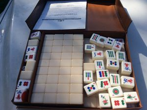 MAH JONGG GAME... drama, excitement! Reduced to $19.99! for Sale in Miami, FL