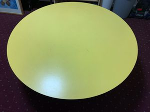 """36"""" Round Yellow Table for Sale in Adelphi, MD"""