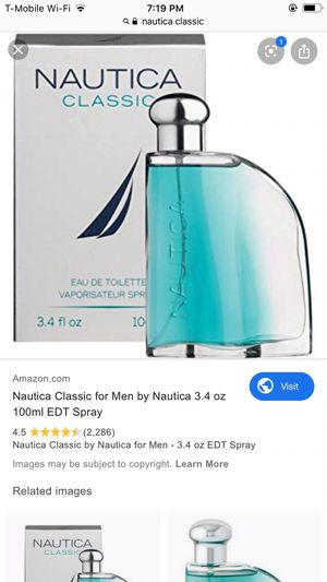 New nautica perfume for Sale in Falls Church, VA