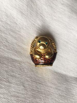 Cute heavy duty gold bear pin for Sale in Seattle, WA
