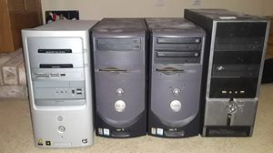 Computer parts and towers for Sale in Westland, MI