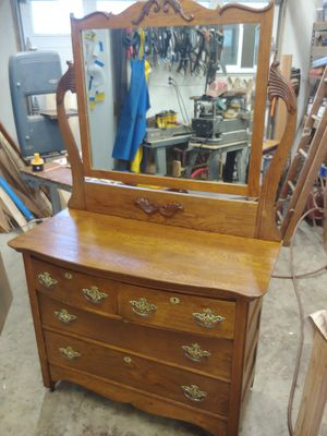 Antique Oak Dresser for Sale in Forest Grove, OR
