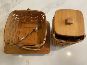 Longaberger Baskets - Assortment of Over a Dozen for Sale in Houston, TX