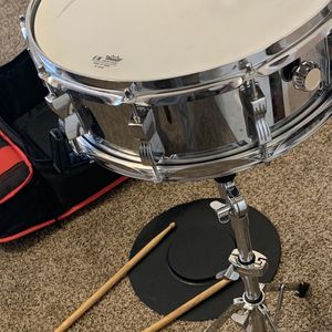 Snare drum set (used Good Condition) for Sale in Hanford, CA