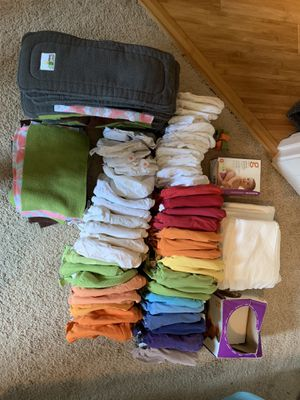 Cloth diaper lot for Sale in Vancouver, WA