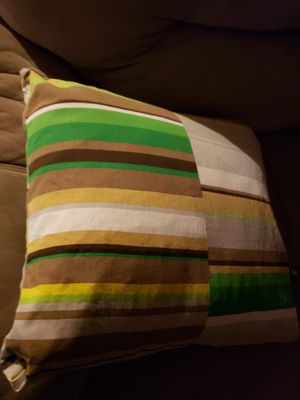 "IKEA pillow covers 18"" x 18"" for Sale in Carol Stream, IL"