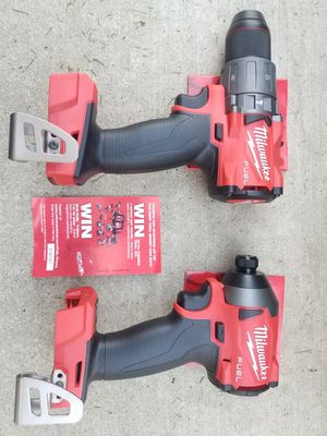M18 Milwaukee Fuel Brushless Hammer Drill and Impact Combo Brand NEW Tools only for Sale in Bakersfield, CA