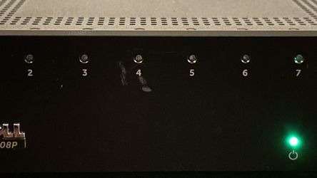Dell Networking X1008P 8-Port POE Managed Switch for Sale in Chicago,  IL