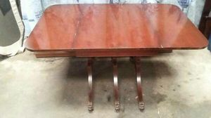Vintage Antique 3 Legged Folding Dining Wood Table for Sale in Tampa, FL