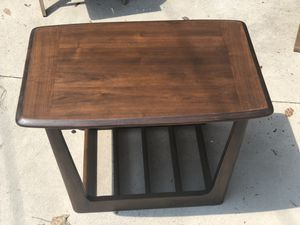 Midcentury walnut coffe table for Sale in Baltimore, MD