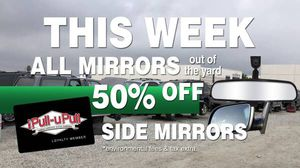 Weekly loyalty member Mirror Sale for Sale in Stockton, CA