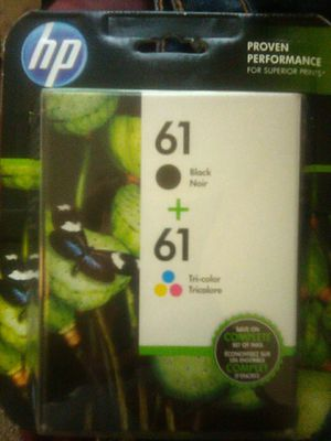Hp printer ink 61+61 and many others for Sale in Portland, OR