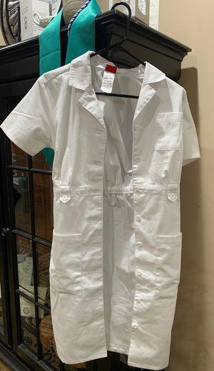 Nursing Pinning white dress for Sale in Upland, CA