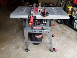 Craftsman 10 inch table saw, Model no. 137.248830 for Sale in Bowie, MD