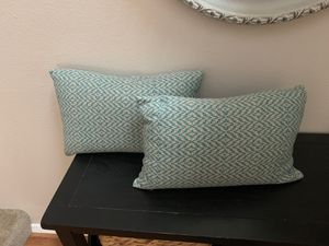Crate and barrel decorative pillows for Sale in Vancouver, WA