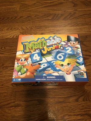 Mathable Jr. Board Game (new) for Sale in Silver Spring, MD