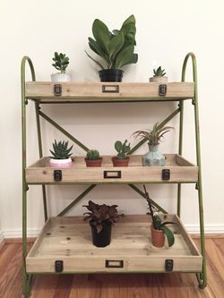 Tiered Ladder Shelf - Industrial Style for Sale in Chicago,  IL