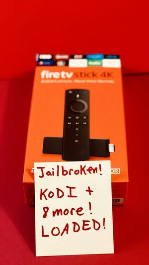 Fire TV Stick with everything and more. Message for details. Pickup In Elizabeth today or have it shipped out for Sale in Newark, NJ