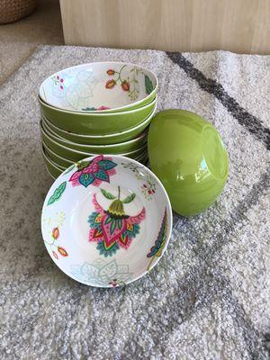 12 melamine bowls for Sale in Alexandria, VA