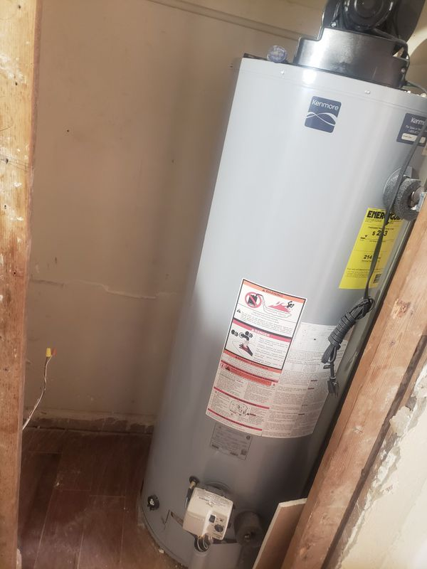 2 Gas Water Heaters