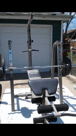 USED POWERHOUSE SQUAT WEIGHT RACK AND PULLEY ATTACHMENTS ** RACK ONLY ** for Sale in San Diego, CA