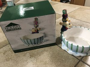 Christmas bowl for Sale in Henderson, NV