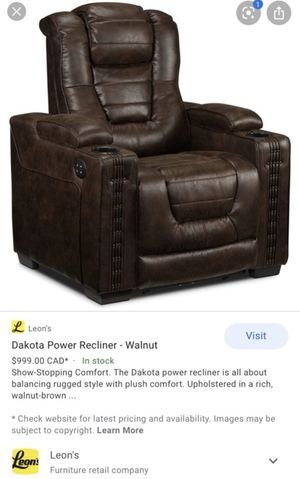 Dakota Power Recliner for Sale in GA, US