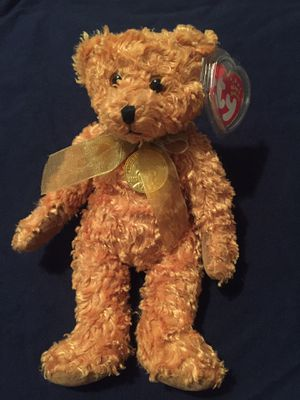 "Ty Beanie Babies 2002 ""Teddy"" Gold Medallion 100th Anniversary for Sale in Wichita, KS"