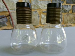 2 vintage retro Pyrex individual coffee carafe containers for Sale in Stewartsville, NJ