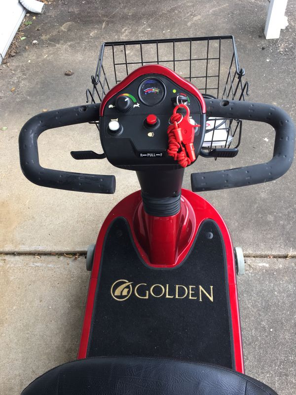 Companion Golden 3 Wheel mobility scooter